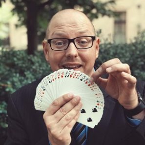 Eric Russell, Pittsburgh Magician, Comedy Magic