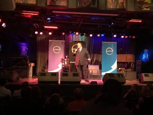 Billy Gardell, comedian, performs in orlando, talent network inc.