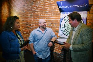 talent talks, talent network inc. Dr. Mike Hutchinson, Mario Porreca