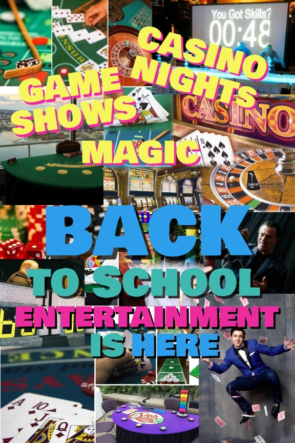 Back-to-school, trending entertainment, talent network inc., booking agency, entertainment, college entertainment, booking your college event
