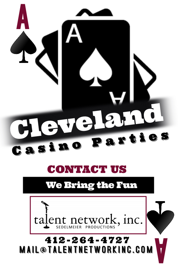 Cleveland, Cleveland Casino, Cleveland casino event, talent network inc, booking casino, casino bookings, talent agency, entertainment agency
