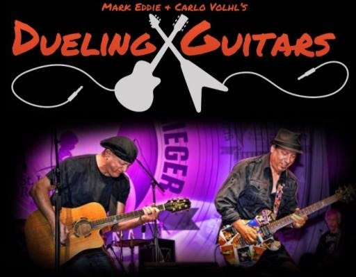 Dueling Guitars, Carlo Volhl, Mark Eddie, Comedy, Music, Guitars, entertainment, talent network inc., novelty entertainment, corporate entertainment, convention entertainment, entertaining, entertainers