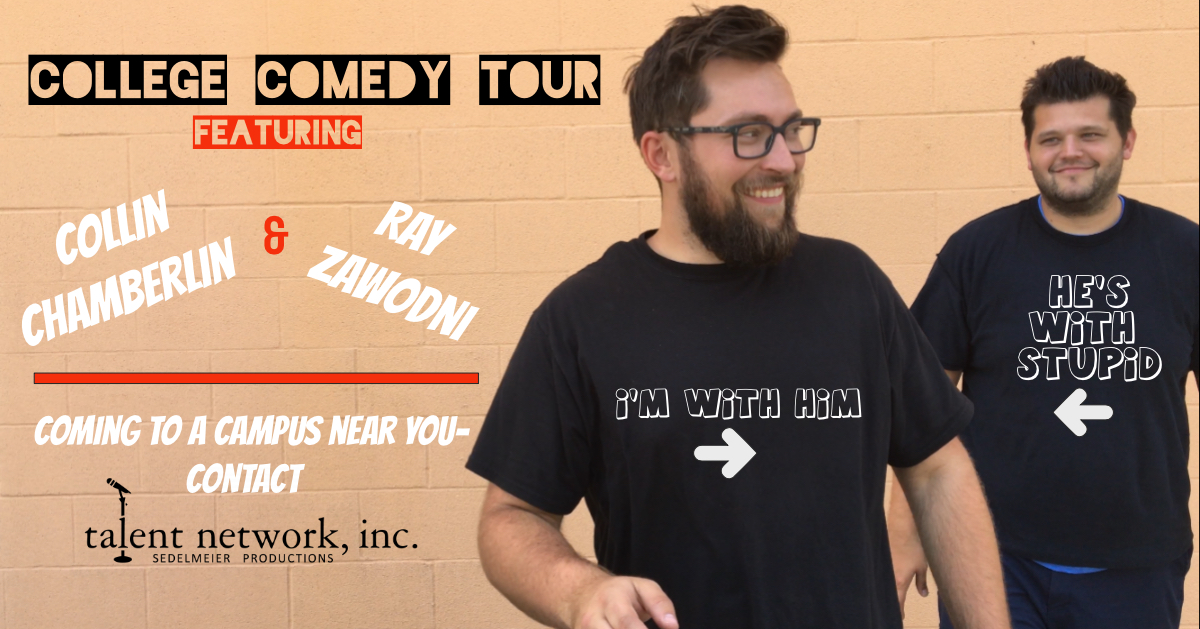 Comedy, Comedy Tour, College Comedy, College Comedy Tour, Comedians on tour, bookings entertainment, talent network inc bookings, entertainment agency