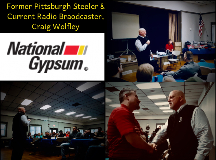 Craig Wolfley, Pittsburgh Steeler, motivational Speaker, talent network inc, motivator, team building, team builder, talent network